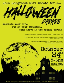 Halloween-parade-flyer-green